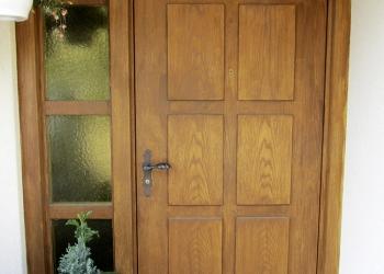 Umbau Haustüre